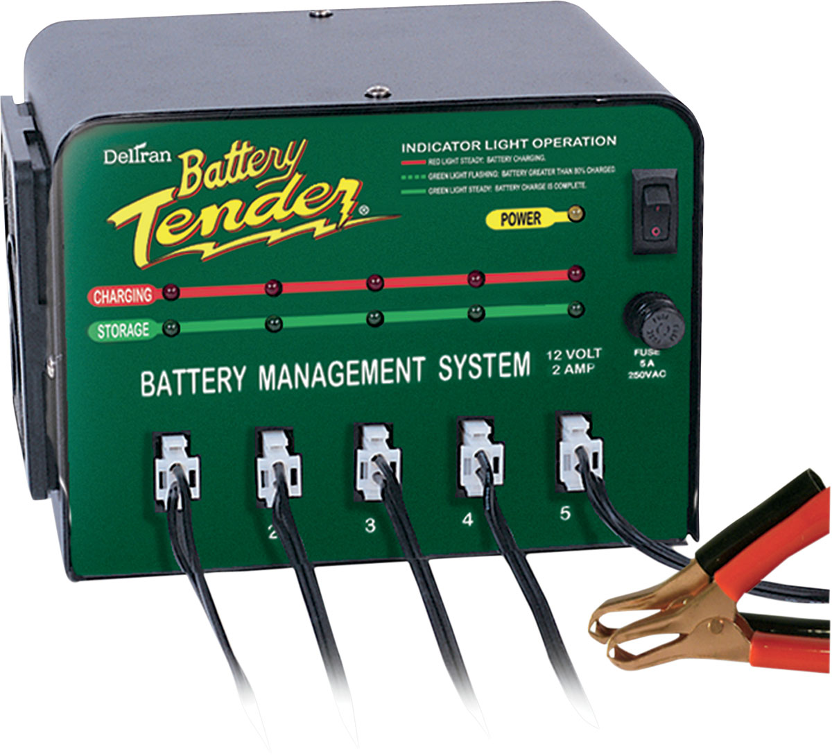 BATTERY TENDER 5 BANK BATTERY TENDER (#0210133)