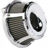 Arlen Ness Inverted Series Air Cleaner Kit - Slot Track - Chrome - 91-14 XL