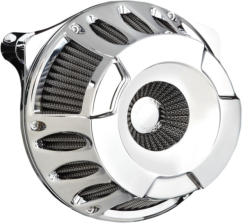Arlen Ness Inverted Series Air Cleaner Kit - Deep Cut - Chrome - 08-14 Touring