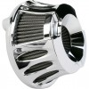 Arlen Ness Inverted Series Air Cleaner Kit - Deep Cut - Chrome - 91-14 XL