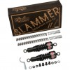 Burly Slammer Kit - Black - 06-14 FXD