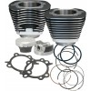 "S&S CYCLE (#910-0206) CYLINDER KIT 106""TC BLK"