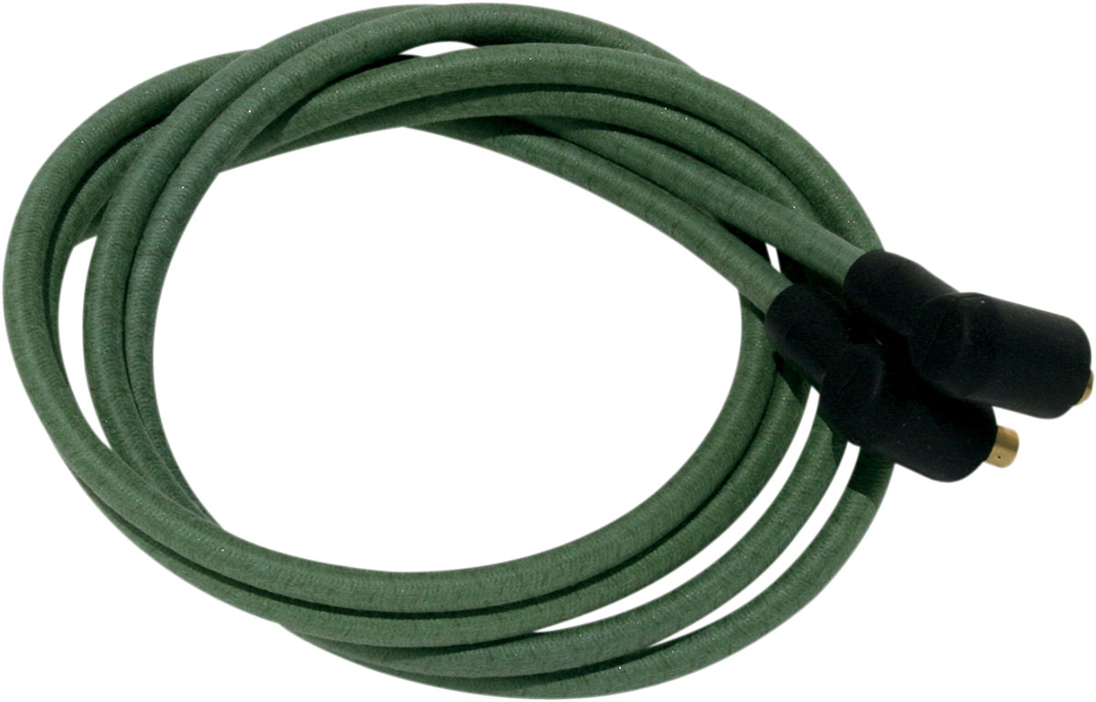 Nyc Choppers Cloth Covered Ignition Wire Kits 7mm Core Green Wiring