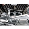 Kuryakyn 8140 Cylinder Base Cover - 84-99 H-D Evo Big Twins w/ forward controls or floorboards