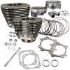 "S&S CYCLE (#910-0338) CYLINDER KIT 124""TC BLK"