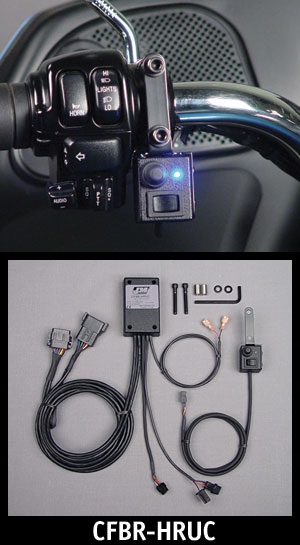 J&M Bluetooth Cell-Phone/GPS/Radar Integration 1998-2013 Harley Ultra