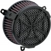 COBRA (#606-0100-02B) AIR FILTER CR BLK DRESSER