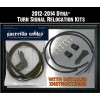 Guerrilla Cables Turn Signal Relocation Kit - 12-14 Dyna