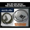 Guerrilla Cables Turn Signal Relocation Kit - 11-14 Softail
