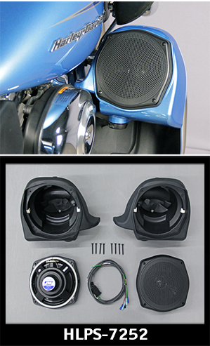 "J&M Performance Series 7.25"" Lower Fairing Speaker kit 06-13 Harley Ultra"