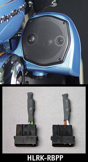 J&M LOWER Fairing Speaker Removal By-Pass Plug Set