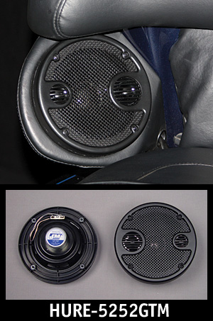 "J&M Performance Series 5.25"" Rear Speaker Kit w/Grill-Tweet/Mid 2006-2013 Ultra"