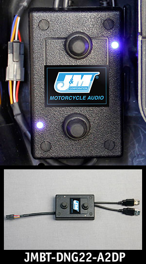J&M Dual-Module A2DP Stereo Bluetooth Dongle