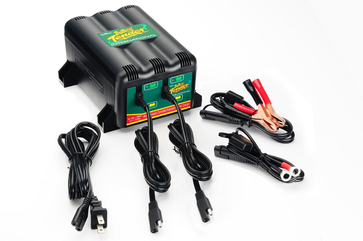 Battery Tender 12V Charger / Maintainer - 2-bank