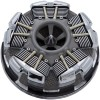 Ciro Radial Air Cleaner - Black - 08-Up Touring