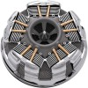 Ciro Radial Air Cleaner - Chrome - 08-Up Touring