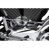 Ciro Cylinder Base Cover - Chrome - 07-Up Touring & 06-Up Dyna