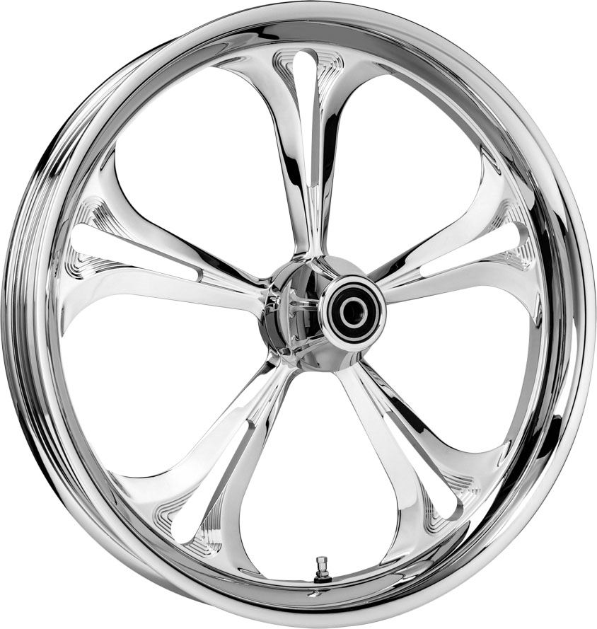 Colorado Custom Motorcycle Wheels - Chrome - Baja