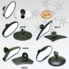 Custom Fairing Mounted Mirrors - Black - Fusion Micro