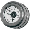Eddie Trotta Mini Oil Pressure Gauge and Cover - Polished