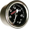 Feuling Oil Pressure Gauge - Black face, bottom port