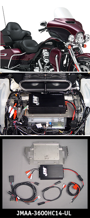 J&M Performance Series Amplifier Kit 2014 Harley Ultra/Ltd
