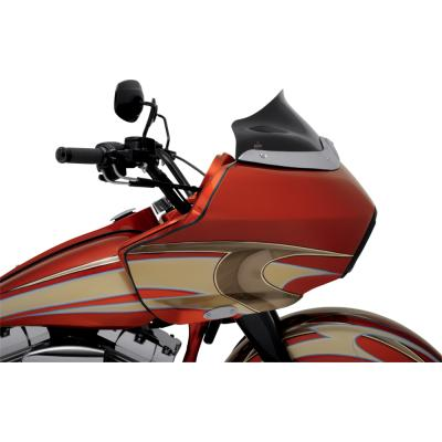 Klock Werks Flare Windshield - 8 in. Black - 98-13 Road Glide