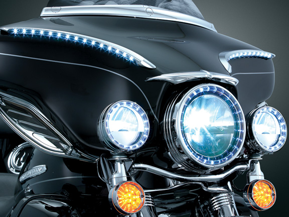 Kuryakyn/Truck-Lite Phase 7 LED Kit - Headlight & Passing Lamps