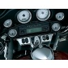 Kuryakyn 3783 Switch Panel Accent - Chrome - 96-13 FL models