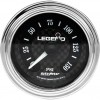 Legend Fairing Mounted LED Backlit PSI Gauge - Diamond cut, lighted