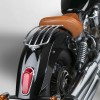 National Cycle Paladin Solo Fender Rack - Chrome - 15-16 Indian Scout