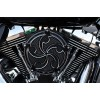 Precision Billet Air Cleaner - Assassin - Black - 08-13 Touring