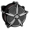 RSD:Roland Sands Design Venturi Air Cleaner - Speed 5 - Contrast Cut - 08-16 Touring