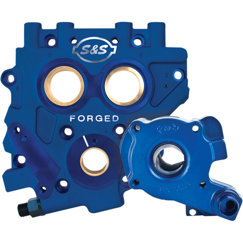 S&S TC3 Oil Pump and Cam Support Plate kit - 06 Dyna, 07-Up Big Twin