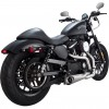 Vance & Hines Competition Series 2-into-1 - Stainless Steel - 14 XL