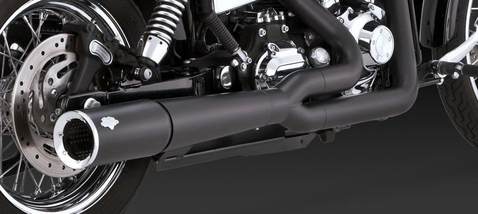 Vance & Hines Pro Pipe Black - 12-14 Dyna
