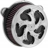 Xtreme Machine Challenger Air Cleaner - Chrome - 08-16 touring