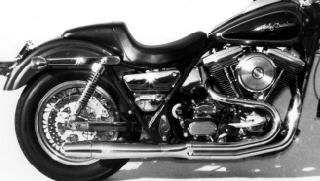 Thunderheader 1018B 2-into-1 Exhaust System - Black - 85-86 FXR