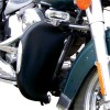 LEADER MOTORCYCLE HIGHWAY BAR RAIN GUARDS F/LAMPS FLH/T (#F4420)