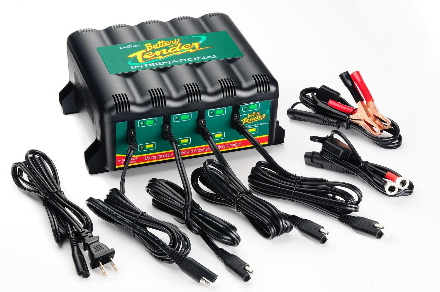 Battery Tender 4-bank