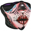 Zan Headgear Half Mask - Sugar Skull (reversible to purple)
